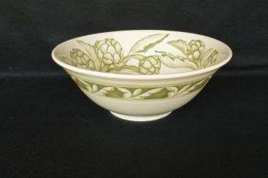 """Bowl, 12"""" Artichoke, profile"""