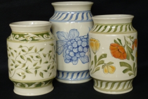 Alberello Vases, M-L