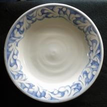 Dinner Plate-Blue Florentine