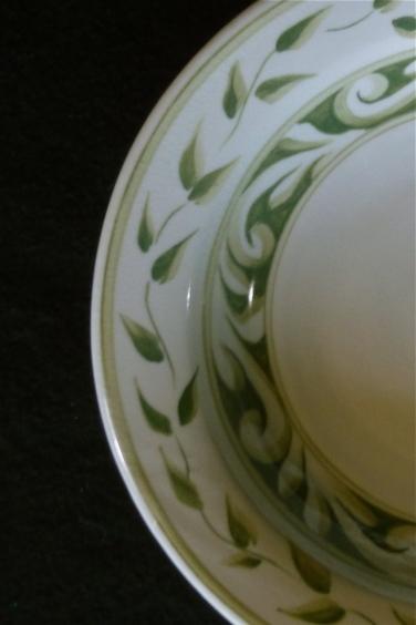 Pasta Bowl, green-detail